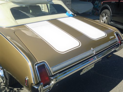 Image result for 1969 oldsmobile convertible trunk lid